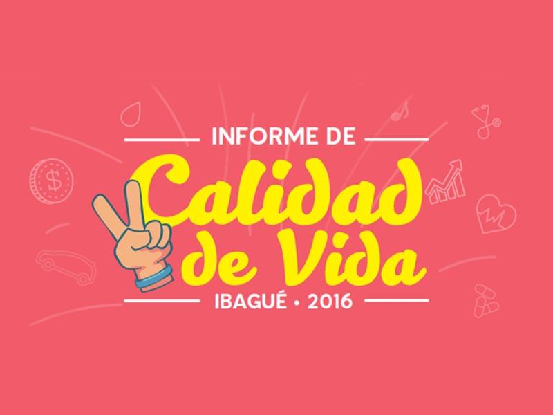 Boletín de prensa Informe Calidad de Vida 2016