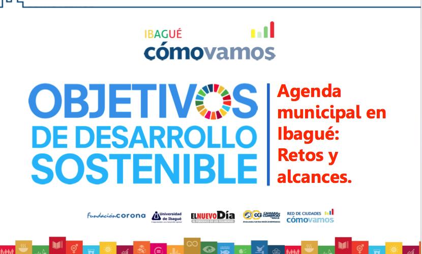 Agenda de Objetivos Desarrollo Sostenible en Ibagué 2016