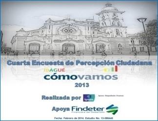 Presentación Encuesta de Percepción Ciudadana Ibagué 2013
