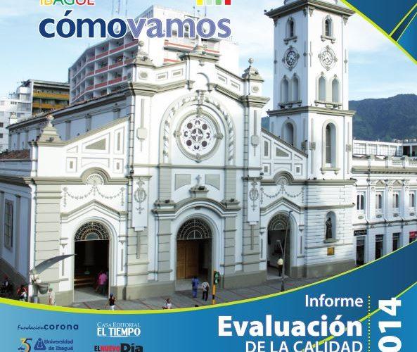 Boletín de Prensa Informe de Calidad de Vida Ibagué 2014