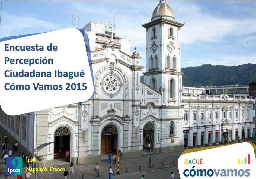 Presentación de Encuesta de Percepción Ciudadana ibagué 2015