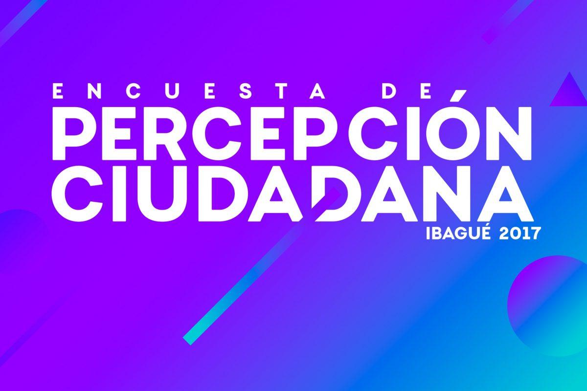 PRESENTACIÓN ENCUESTA DE PERCEPCIÓN CIUDADANA IBAGUÉ 2017